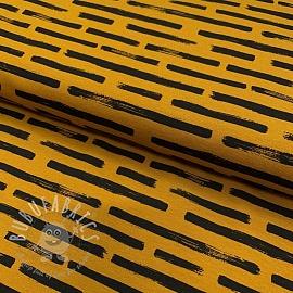 Jersey Marker stripes ochre