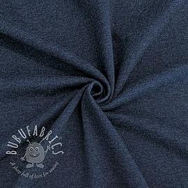 Jersey melange dark blue 150