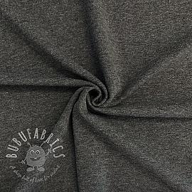 Jersey melange dark grey 150