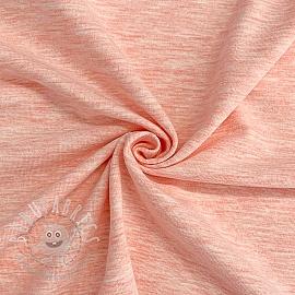 Jersey melange pink 150