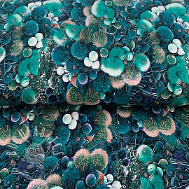 Jersey Mix Auva Sea flower digital print