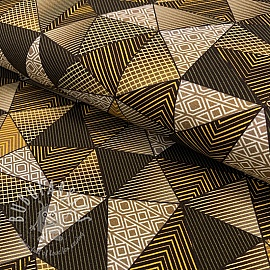 Jersey MIX TRIANGLES YELLOW