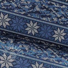 Jersey Norwegian Snowflake blue