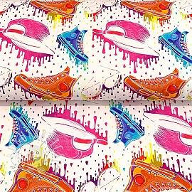 Jersey Old school trend digital print