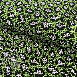 Jersey Panther pattern green