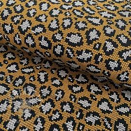 Jersey Panther pattern ochre