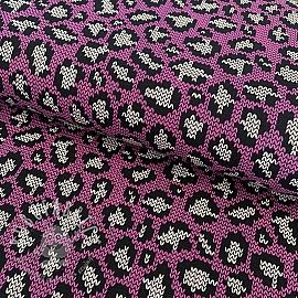 Jersey Panther pattern pink
