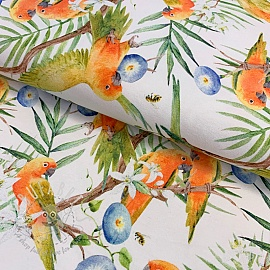 Jersey Parrot digital print