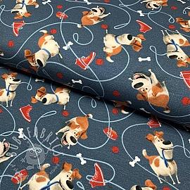 Jersey Pets Max blue digital print