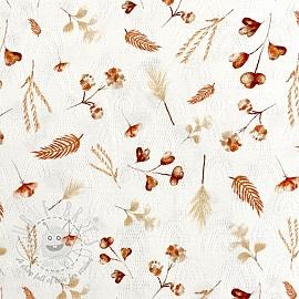 Jersey pointoille Aegir Wild flower digital print