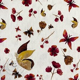 Jersey pointoille Amor Butterfly digital print