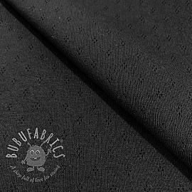 Jersey pointoille MINI black