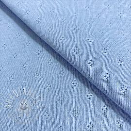 Jersey pointoille MINI light blue