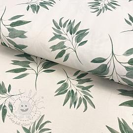 Jersey Rana leaf digital print
