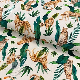Jersey Rana leopard digital print