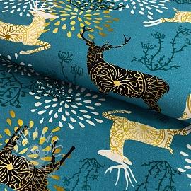 Jersey Reindeer digital print