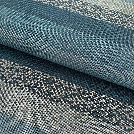 Jersey Stripe pattern blue