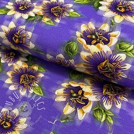 Jersey Sun flowers digital print