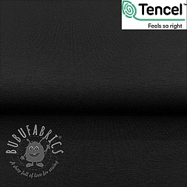 Jersey TENCEL modal black