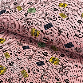 Jersey Trolls Music is my way pink
