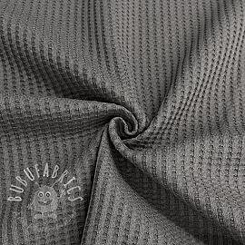 Jersey WAFFLE grey