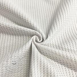Jersey WAFFLE off white