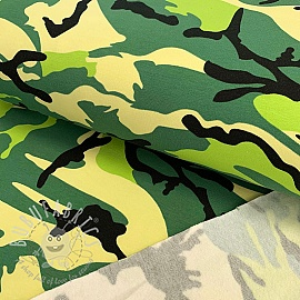 Jogging sweat Army green