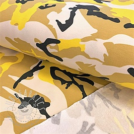 Jogging sweat Army yellow