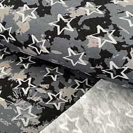 Jogging sweat soft Camouflage stars black