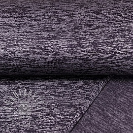 Knit fabrics Dark purple