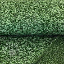 Knit fabrics Green