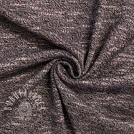 Knit fabrics thin old rose
