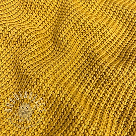 Knitted Cotton ochre