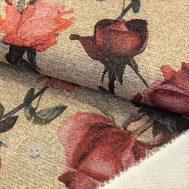Knitted jersey LUREX Rose ecru