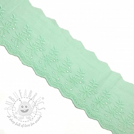 Lace Double flower light mint