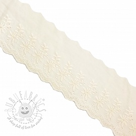 Lace Double flower off white