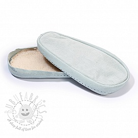 Leather soles for slippers and slipper-socks 36-38