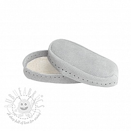Leather soles for slippers and slipper-socks 18-20