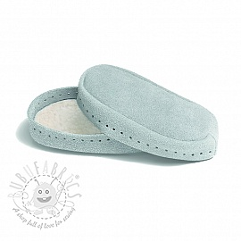Leather soles for slippers and slipper-socks 24-26