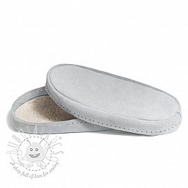 Leather soles for slippers and slipper-socks 30-32