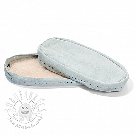 Leather soles for slippers and slipper-socks 33-35
