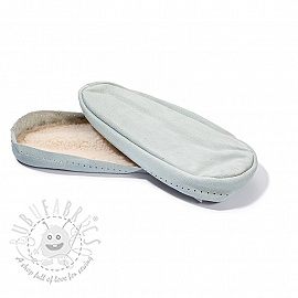 Leather soles for slippers and slipper-socks 39-41