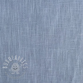 Linen enzyme washed blue shadow
