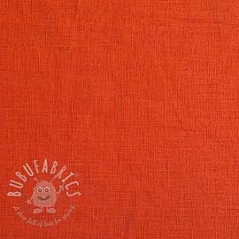 Linen enzyme washed orange