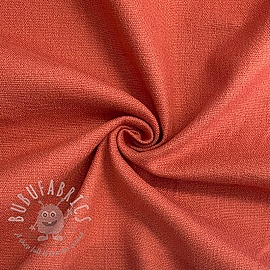 Linen stretch coral