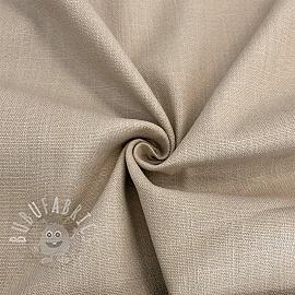 Linen stretch light sand