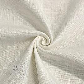 Linen stretch off white