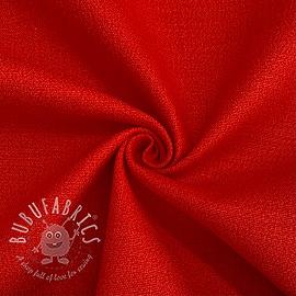 Linen stretch red
