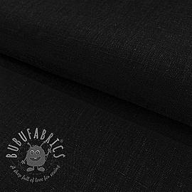 Linen viscose BLACK