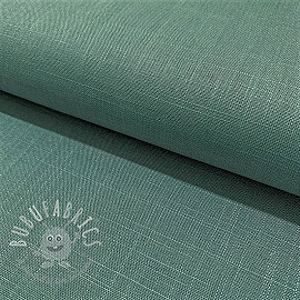 Linen viscose DARK MINT